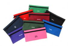 SINGLE ZIPPED PENCIL CASE
